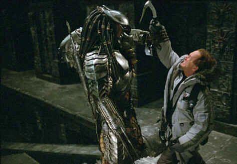 Predator was always my favourite - the ultimate Rastafarian Alien.