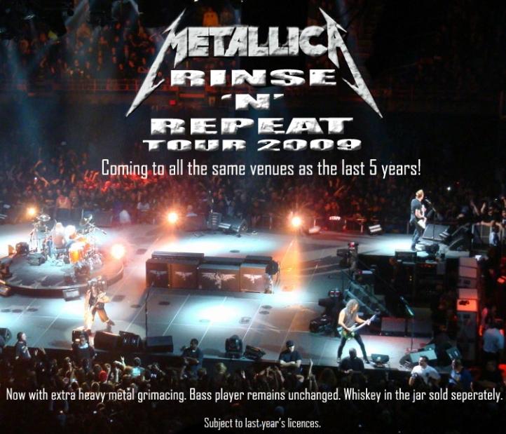 Metallica on Tour